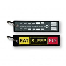 EAT SLEEP & FLY - Runway signs