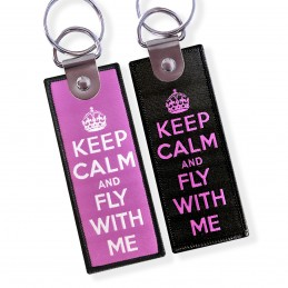 KEEP CALM & FLY WITH ME